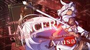 Fate Grand Order 4週連続・全8種クラス別TV-CM 第3弾 ランサー編