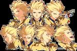 Gilgamesh ufotable Fate Zero Character Sheet 2