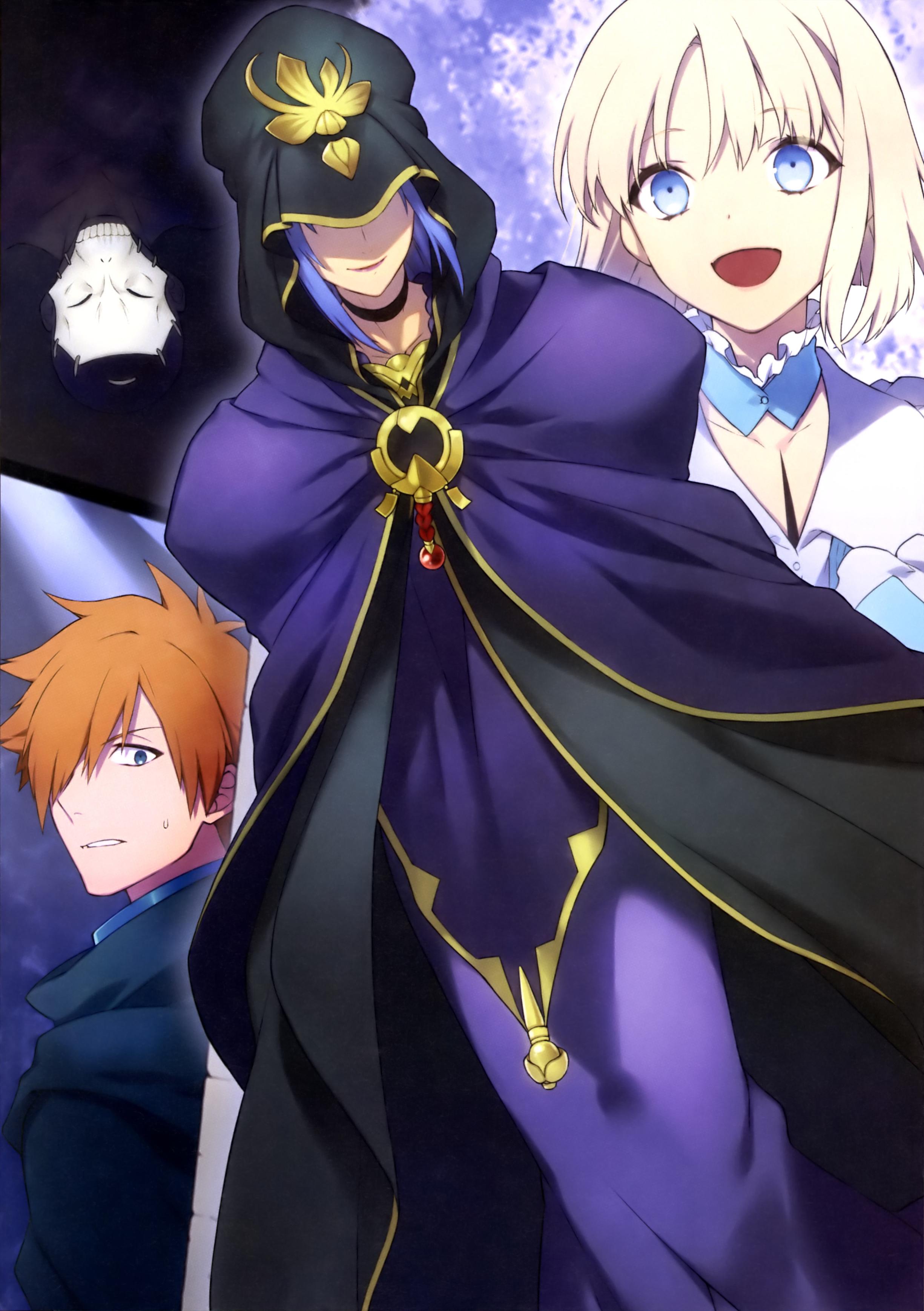 Caster Fate Stay Night Type Moon Wiki Fandom
