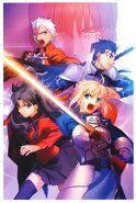 Fate unlimited codes (PS2) portada