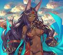 Caster (Fate/Grand Order - Queen of Sheba)