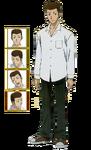 Arihiko Tsukihime Anime character sheet