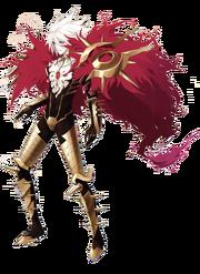 Lancer of red
