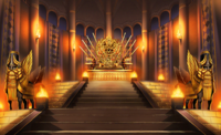Ishtar throne