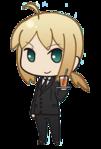 Saber Fate Zero Cafe