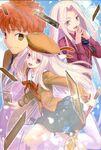 PRISMA Shirou, Illyasviel et Irisviel Takeuchi Takashi