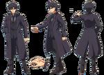 Kiritsugu ufotable Fate Zero Character Sheet 1