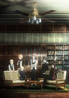 Lord El-Melloi II Case Files Rail Zeppelin Visual 1