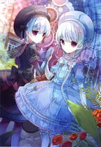 Caster and Alice illustration