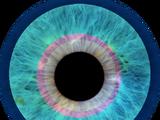 Occhi magici della percezione della morte