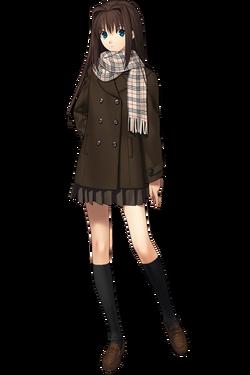 Aozaki Aoko manteau