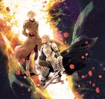 Leonardo and gawain fate extra last encore ending illustration 2