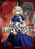 Fate Apocrypha Manga Volume 1 Cover