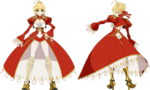 Saber Nero Studio SHAFT FateExtra Last Encore Character Sheet