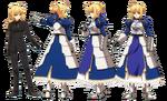 Saber ufotable Fate Zero Character Sheet1