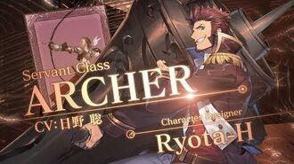 Fate Grand Order 4週連続・全8種クラス別TV-CM 第5弾 アーチャー編-0