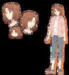 Hoja de personaje de Ayako Today's Menu