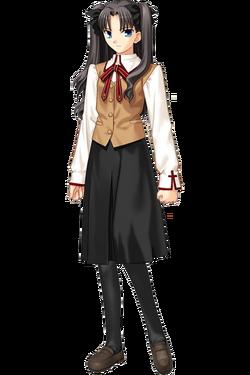 Tohsaka Rin uniforme