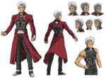 Archer Carnival Phantasm character sheet