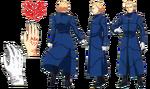 Kayneth ufotable Fate Zero Character Sheet1