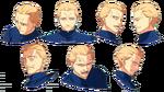 Hoja de personaje de Ufotable de Kayneth en Fate Zero 2