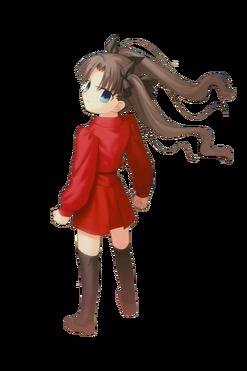 Tohsaka Rin enfant