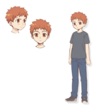 Young Shirou Character Sheet Emiya-san