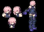 Hoja de Personaje Mash Babylonia Anime