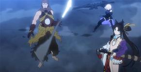 Benkei, Mashu et Ushiwakamaru - Copie