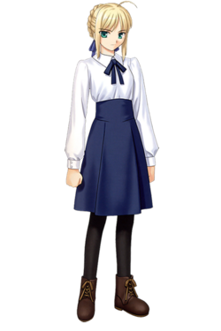 Saber normal (Fate stay night)