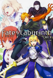 Fate Labyrinth novela ligera portada