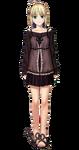 Vestido especial de Saber en Hollow Ataraxia