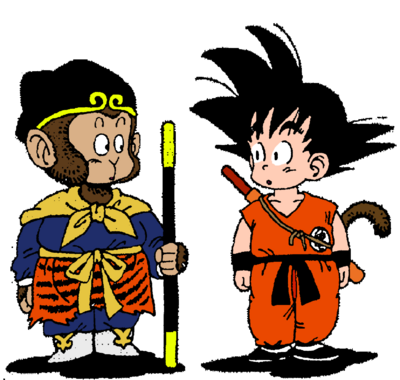 Goku and sun wukong by soulreaperblaze-d4g7pxi-1-