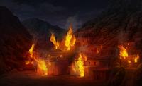 Village Burning