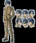Issei Carnival Phantasm character sheet