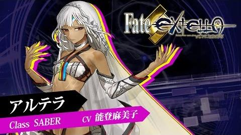 Fate新作アクション『Fate EXTELLA』ショートプレイ動画【アルテラ】篇