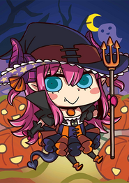 FGO Elizabeth Bathory Halloween April Fool 2016