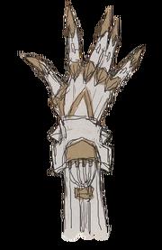 Bronze Link Manipulators glove