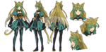 Archer of Red A-1 Pictures Fate Apocrypha Character Sheet1