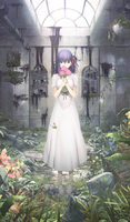 Fate Stay Night Heaven's Feel anime key art