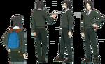 Hoja de personaje de Waver en Fate Zero de Ufotable