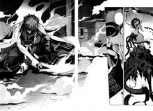 Shirou coupe le bras de Shinji