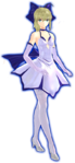 Vestido de Noche Pura de Arturia Fate Extella DLC