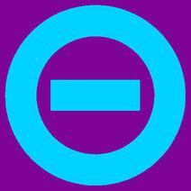 Aqua logo purple bkgd