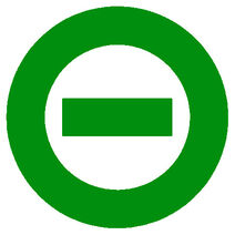 Green logo white bkgd