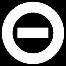 White logo black bkgd