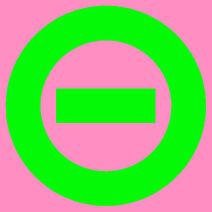 Logo pink bkgd