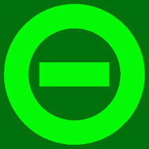 Logo dark green bkgd