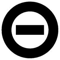 Black logo white bkgd