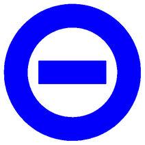 Blue logo white bkgd